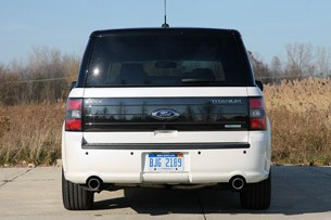2011 Ford Flex Titanium rear view