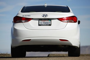 2011 Hyundai Elantra rear view