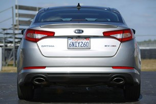 2011 Kia Optima 2.0T rear view