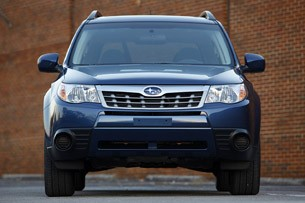2011 Subaru Forester front view
