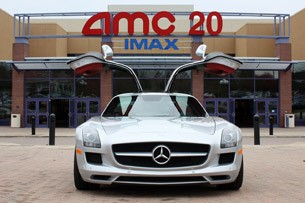 2010 Mercedes-Benz SLS AMG front view