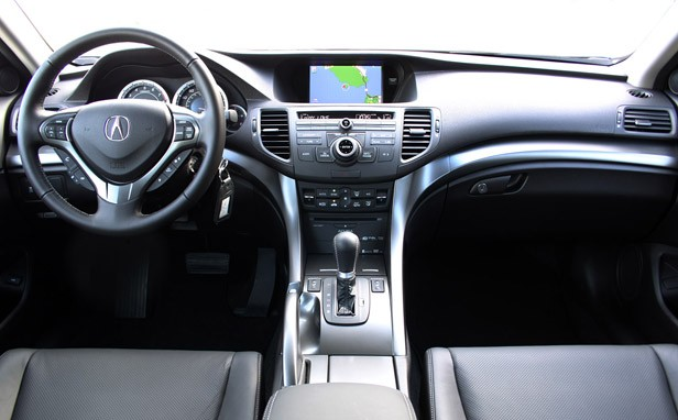 2011 Acura TSX Sport Wagon interior
