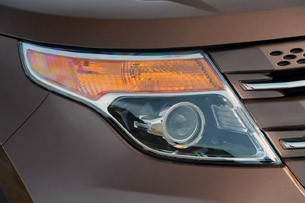 2011 Ford Explorer headlight