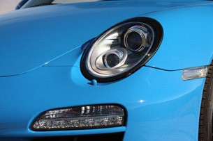 2011 Porsche 911 Speedster headlight