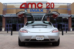2010 Mercedes-Benz SLS AMG rear view