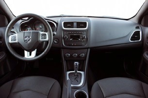 2011 Dodge Avenger interior