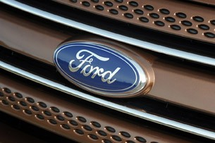 2011 Ford Explorer grille badge
