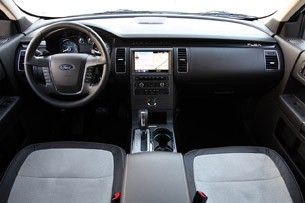 2011 Ford Flex Titanium interior