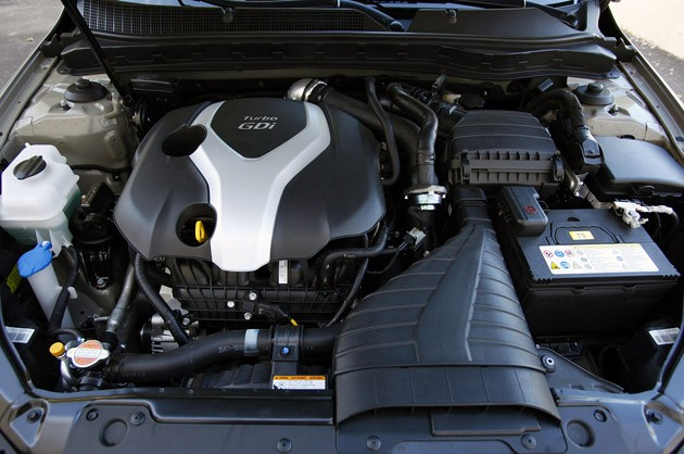 2011 Kia Optima 2.0T engine