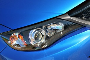 2011 Subaru Impreza WRX headlight