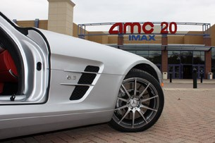 2010 Mercedes-Benz SLS AMG side detail