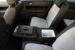 2011 Ford Flex Titanium rear seats