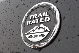 2011 Jeep Compass Limited Trail Rated badge