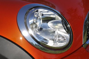 2011 Mini Cooper headlight