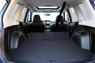 2011 Subaru Forester rear cargo area