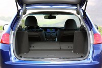 2011 Acura TSX Sport Wagon rear cargo area