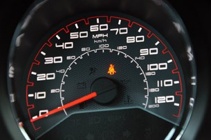 2011 Dodge Avenger speedometer