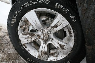 2011 Jeep Compass Limited wheel