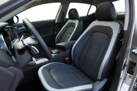 2011 Kia Optima 2.0T front seats