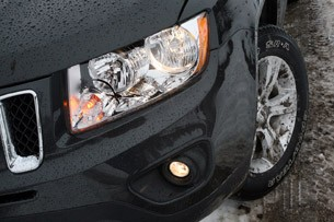2011 Jeep Compass Limited headlight