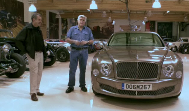 Jay Leno and the Bentley Mulsanne