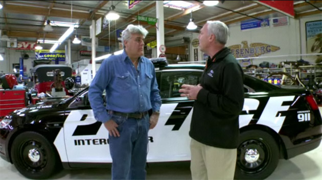 Jay Leno and the Ford Police Interceptor