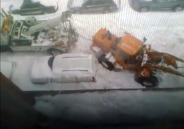 NYC sanitation crew snow blunder