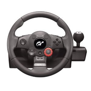 Logitech GT5 driving wheel