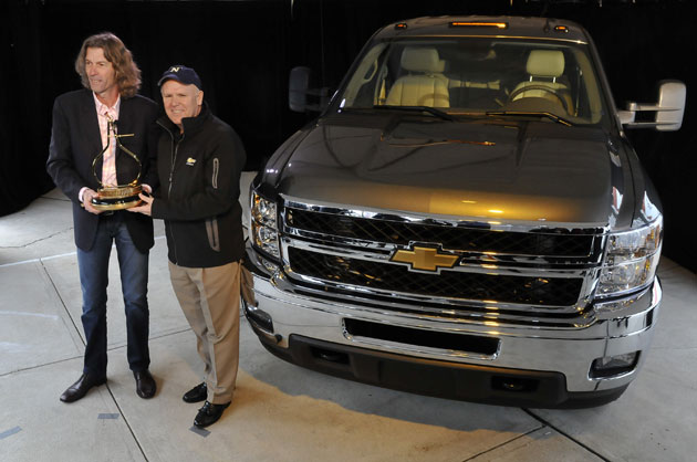 Chevrolet Silverado HD named 2011 Motor Trend Truck of the Year