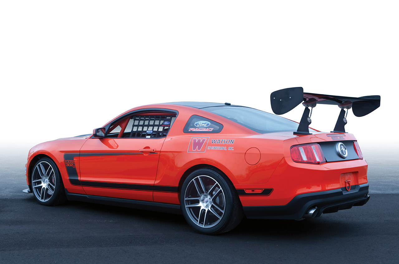 GT's 5.0-liter V8 and adds