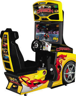 Need For Speed Carbon arcade game