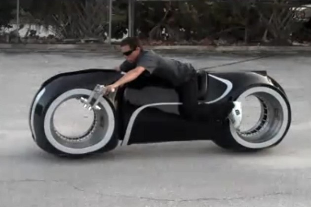 Tron Light Cycle Replica Apparently Street Legal Somehow