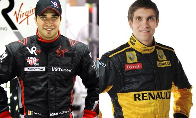 Lotus Renault GP Drivers