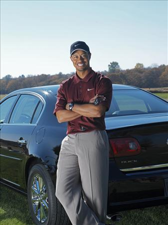 Tiger Woods. Tiger Woods set to roll around
