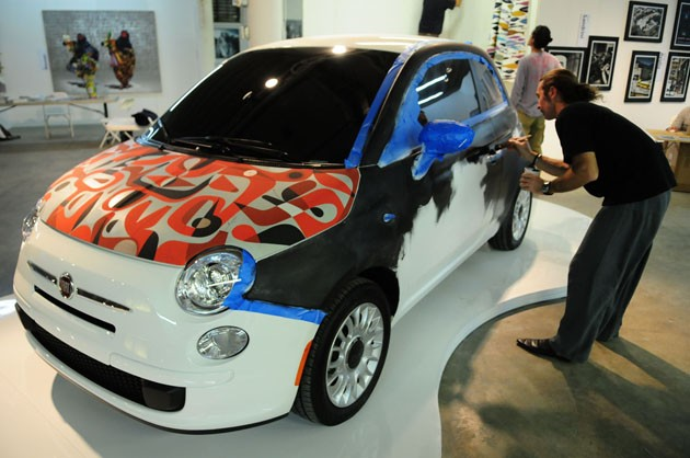 Fiat Exhibitalia art car