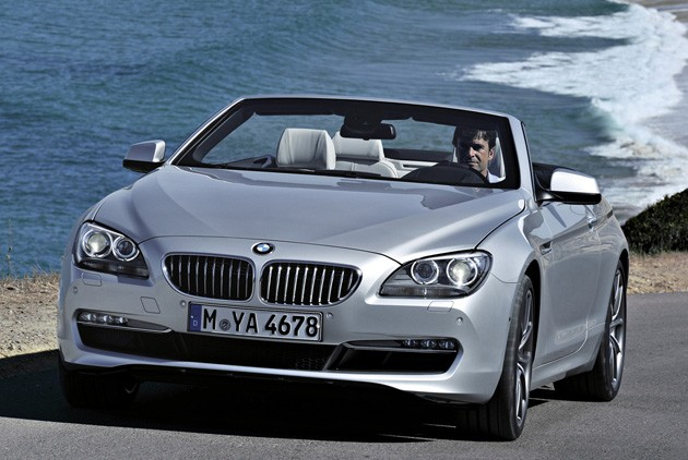 2012 BMW 6 Series convertible