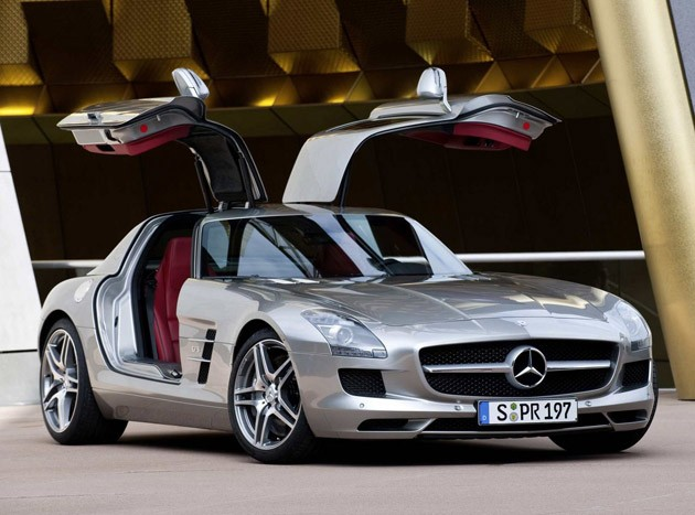 2011 Playboy Car of the Year &ndash; Mercedes Benz SLS AMG