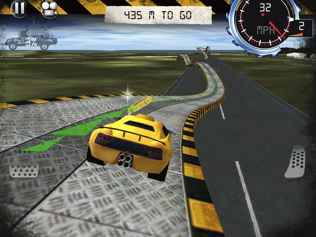 Top Gear: Stunt School iPhone game