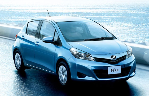 2012 Toyota Vitz Yaris