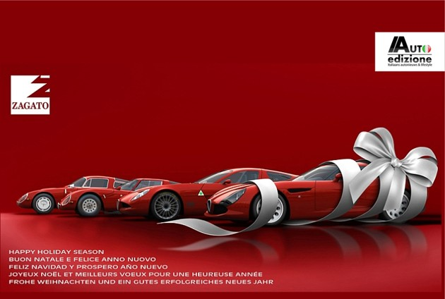 Zagato holiday card