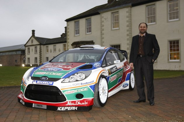 2011 Ford Fiesta WRC Rally Car