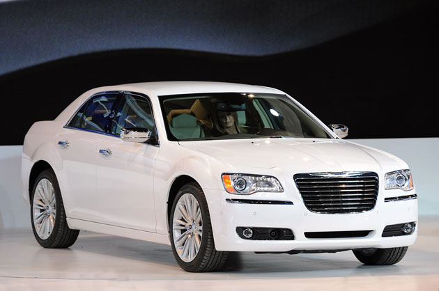 2011 Chrysler 300 at Detroit Auto Show