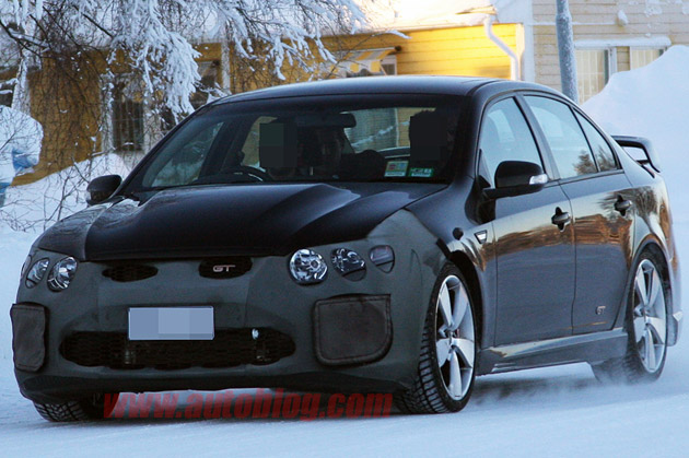 Ford FPV Falcon GT-H Spy Shots