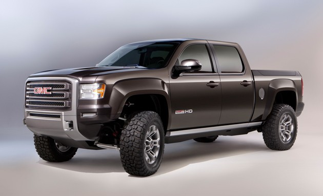 GMC Sierra All Terrain HD concept – Click above for high-res image