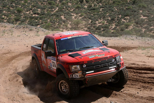Ford F-150 SVT Raptor 2011 Dakar Rally
