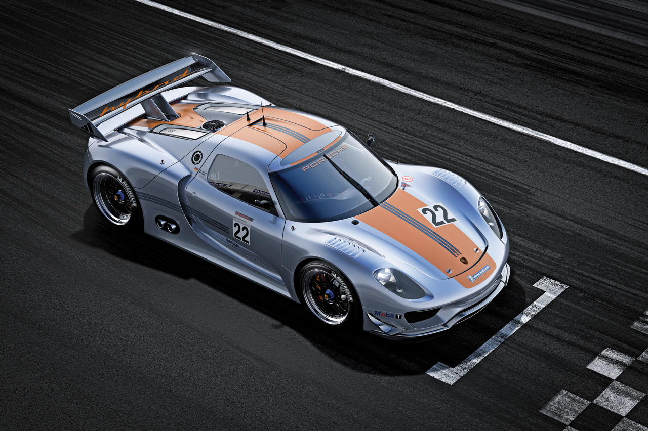 Porsche 918 RSR Aug 8 2013 Photo Gallery