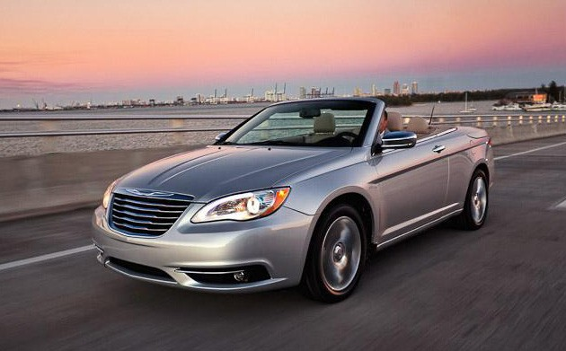 2012 chrysler 200 convertible photos leak out. Black Bedroom Furniture Sets. Home Design Ideas