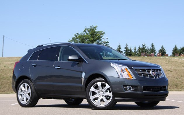 2010 Cadillac SRX Turbo