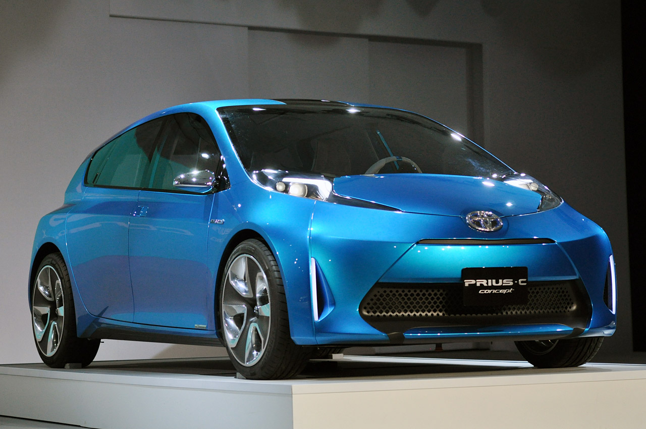 Prius C Concept best toyota small cars