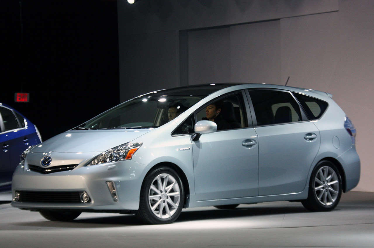 Toyota Prius For Sale >> Quake fallout may delay Toyota Prius V sales by up to a year - Autoblog